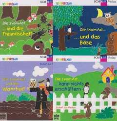 4-CD: Die drei vom Ast Folge 5 bis 8 im Paket