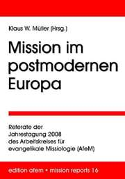 Mission im postmodernen Europa