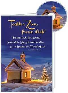 CD-Card: Tochter Zion - Weihnachten