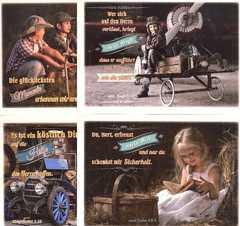 Postkartenserie - Kinder Vintage 12 Stk