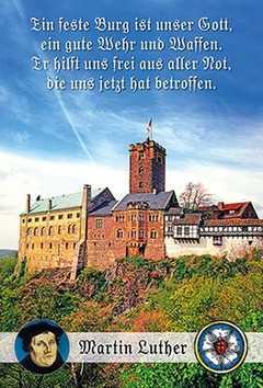 Faltkarte: Ein feste Burg - Trauer
