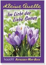 """Aufkleber-Mini-Buch """"Im Licht der Liebe Gottes"""""""