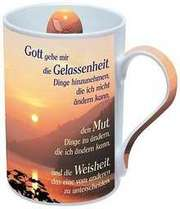 Foto-Tasse: Gott gebe mir die Gelassenheit ...