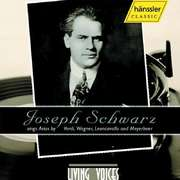 Joseph Schwarz sings Arias by Verdi, Wagner, Leoncavallo and Meyerbeer